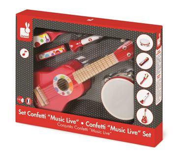 Imagen de Instrumentos Musicales Rojos Janod